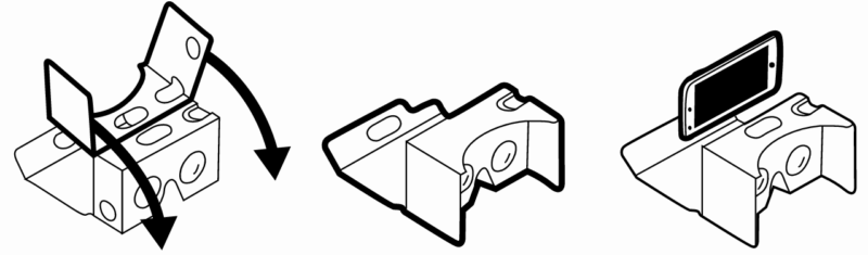Google Cardboard V2 Instructions