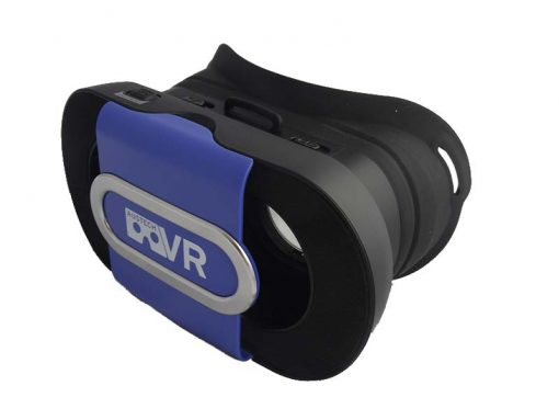 Blue Virtual Reality Headset