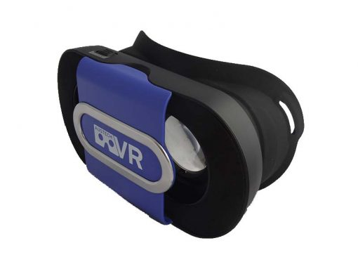 Blue VR Go Folded down