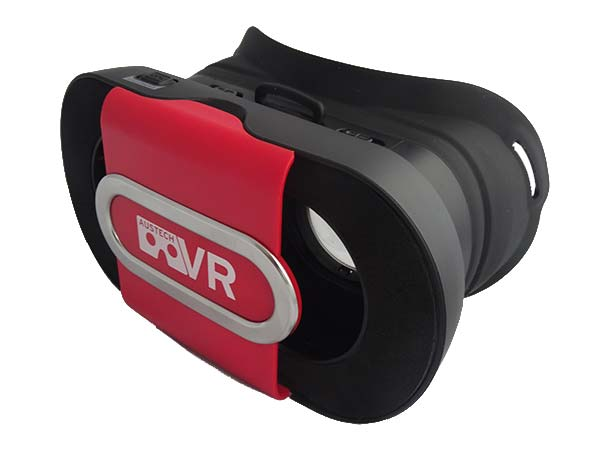 Red Virtual Reality Headset