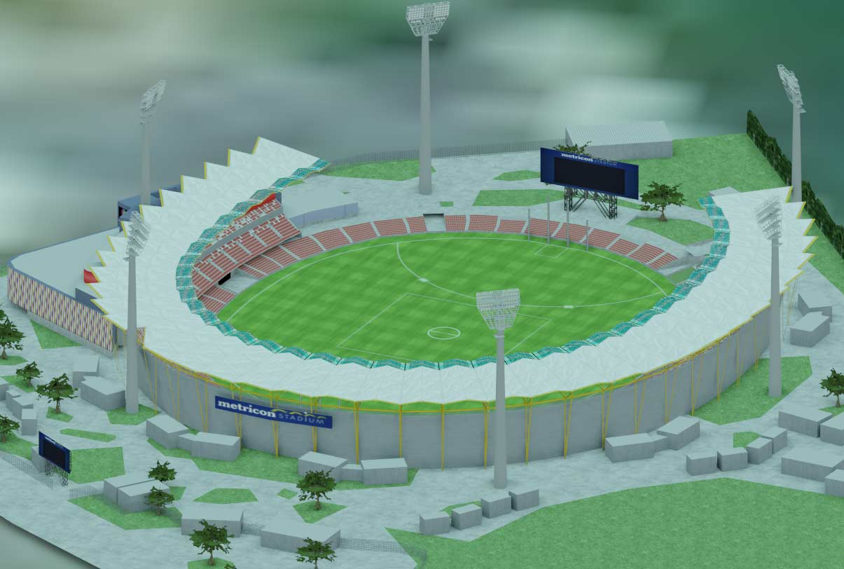 Metricon Stadium Augmented Reality